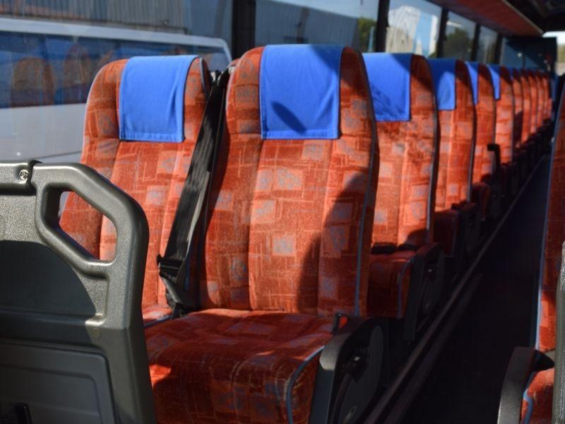 Seats in Coach FJ03 AAZ