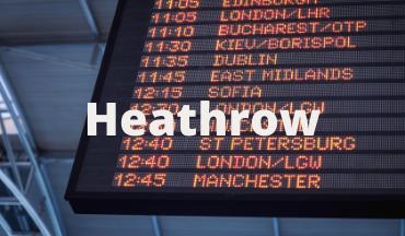 Minibus Airport Transfer to Heathrow Airport