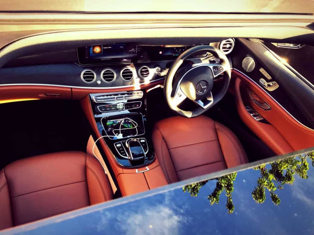 Mercedes-Benz-E-Class-Chauffeur-Hire-Interior-Daytime