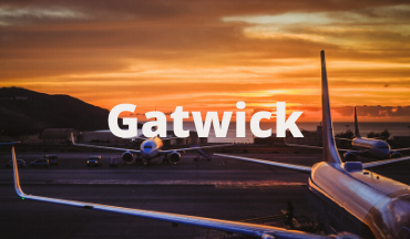 Airfield at Gatwick Airport