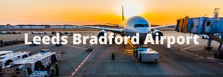 Minibus To Leeds Bradford Airport - Aeroplane Getting Ready For Take Off