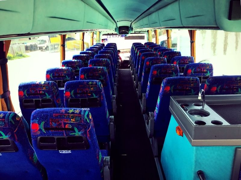 Back of Seats in Coach Y57 HHE