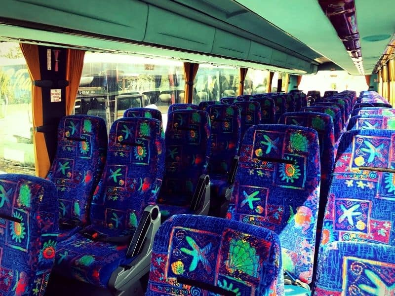 Seats in Coach Y57 HHE